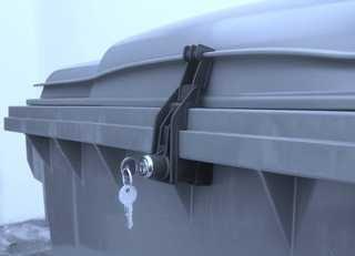 Müllcontainerverschluss 1100 Liter OTTO/ESE F