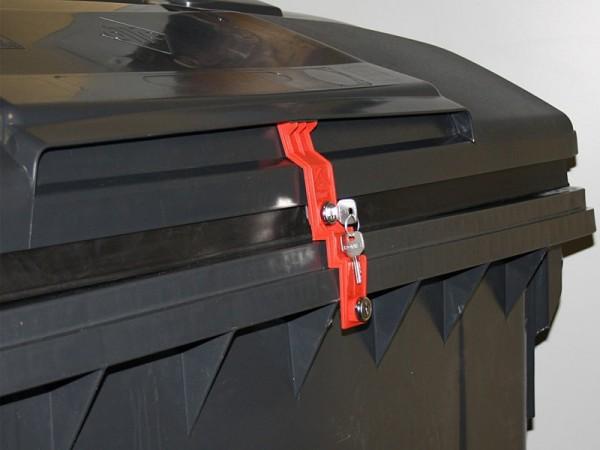 Müllcontainerverschluss 1100 Liter OTTO/ESE - Deckel im Deckel
