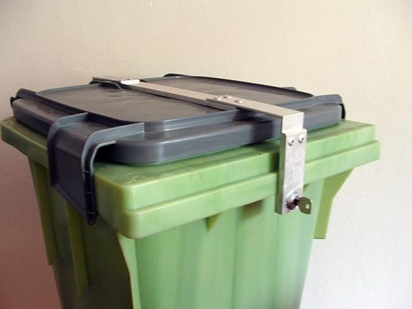 Altfettbehälter 120 Liter Verschluß