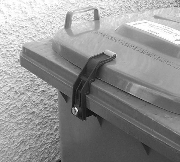 Mülltonnenverschluss 60 bis 360 Liter