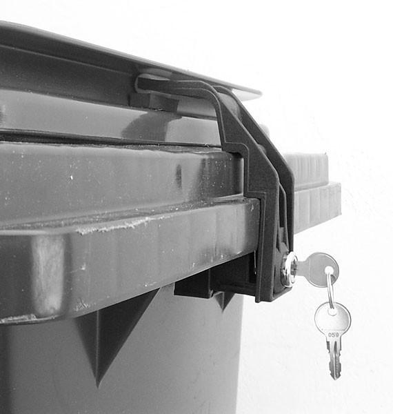 Mülltonnenverschluss 60 bis 240 Liter