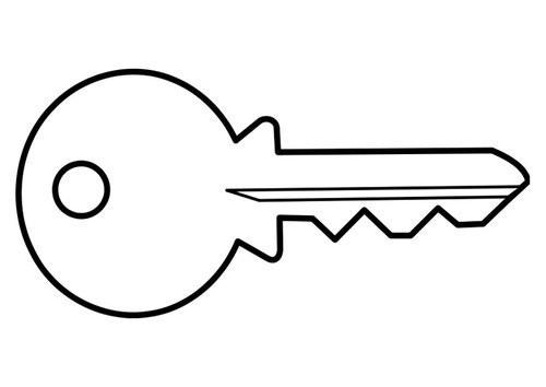 Zusatz- / Ersatzschlüssel Universal-Verschluss für Griffcontainer